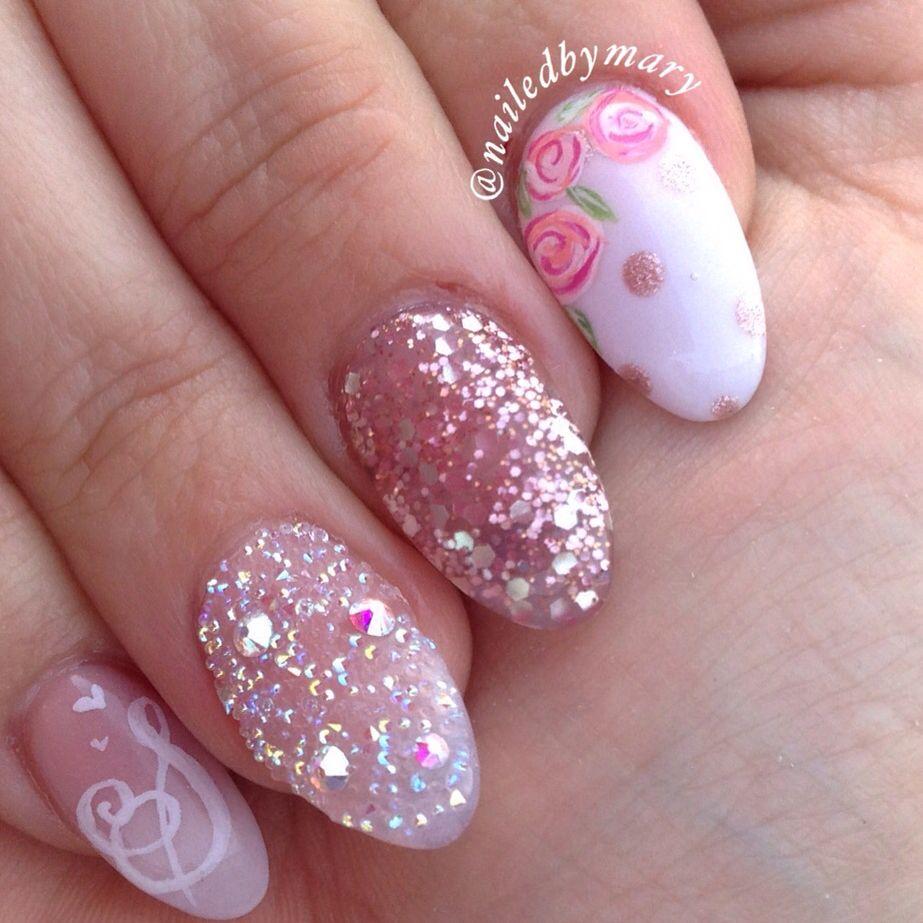 Swarvoski Crystal pixie dust roses spring rose gold glitter love ...