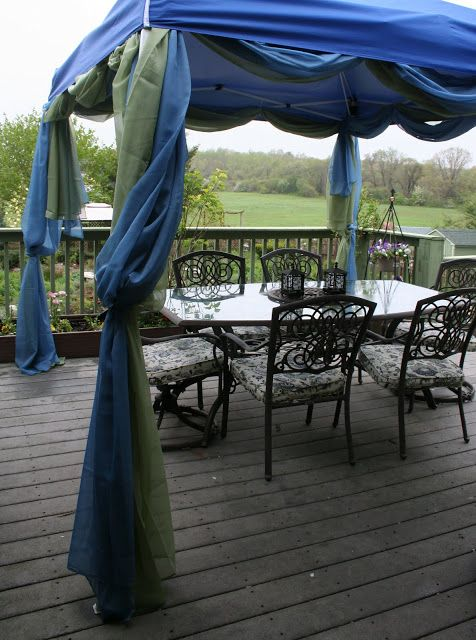 Our Garden Journal Deck Canopy Dressed For Success Canopy Design Canopy Tent Outdoor Canopy Tent