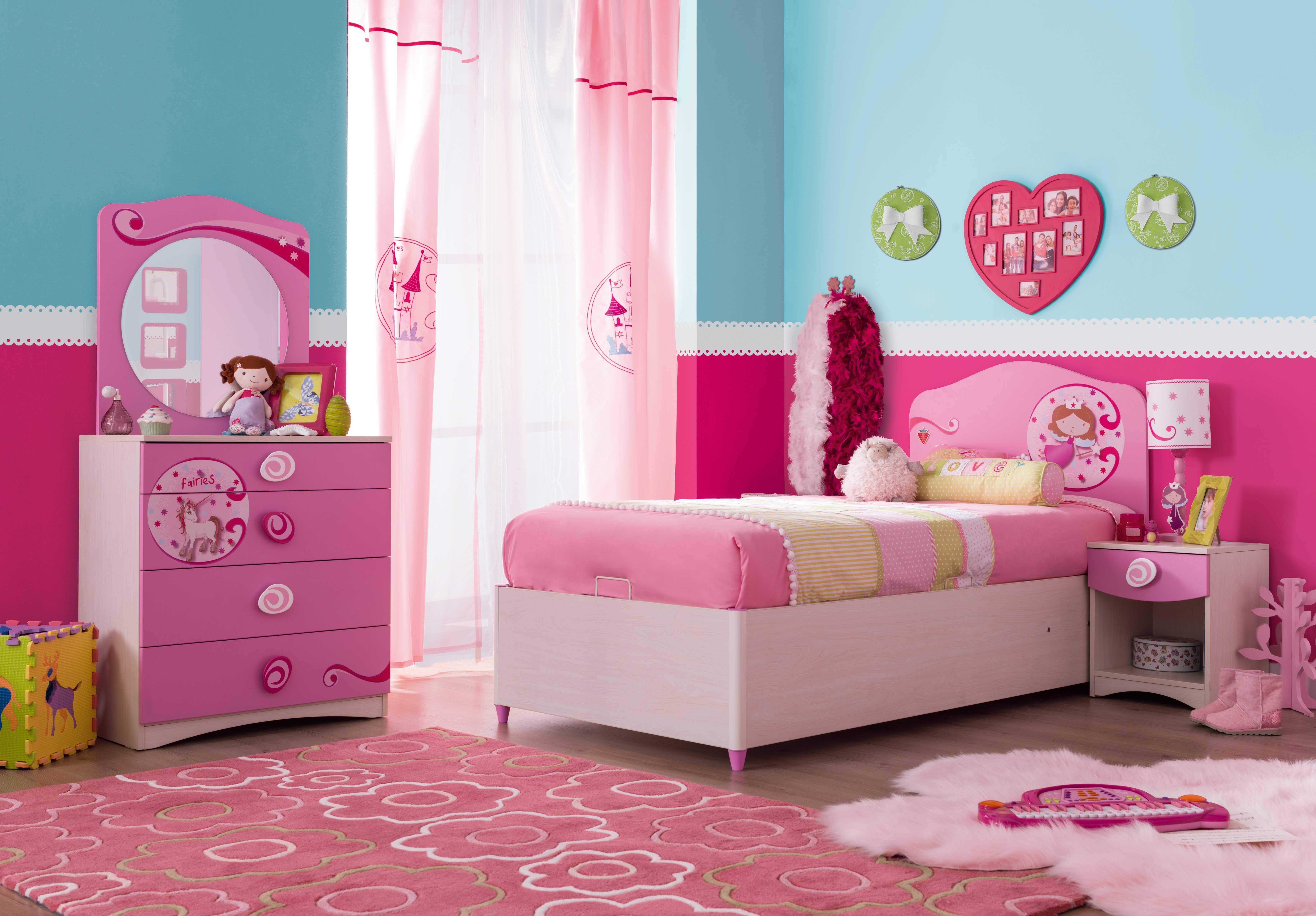 Cilek PRINCESS Mädchenzimmer, 4teilig (mit Bildern