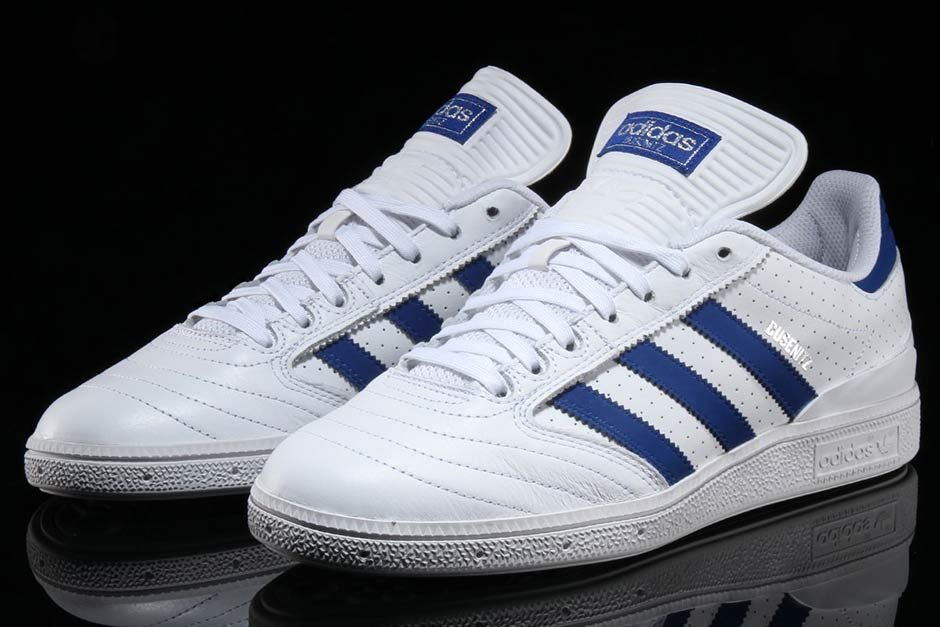 bienestar materno Original  adidas Busenitz Pro White Royal Perforated Leather BY3971   SneakerNews.com    Sneakers fashion, Adidas, Sneakers