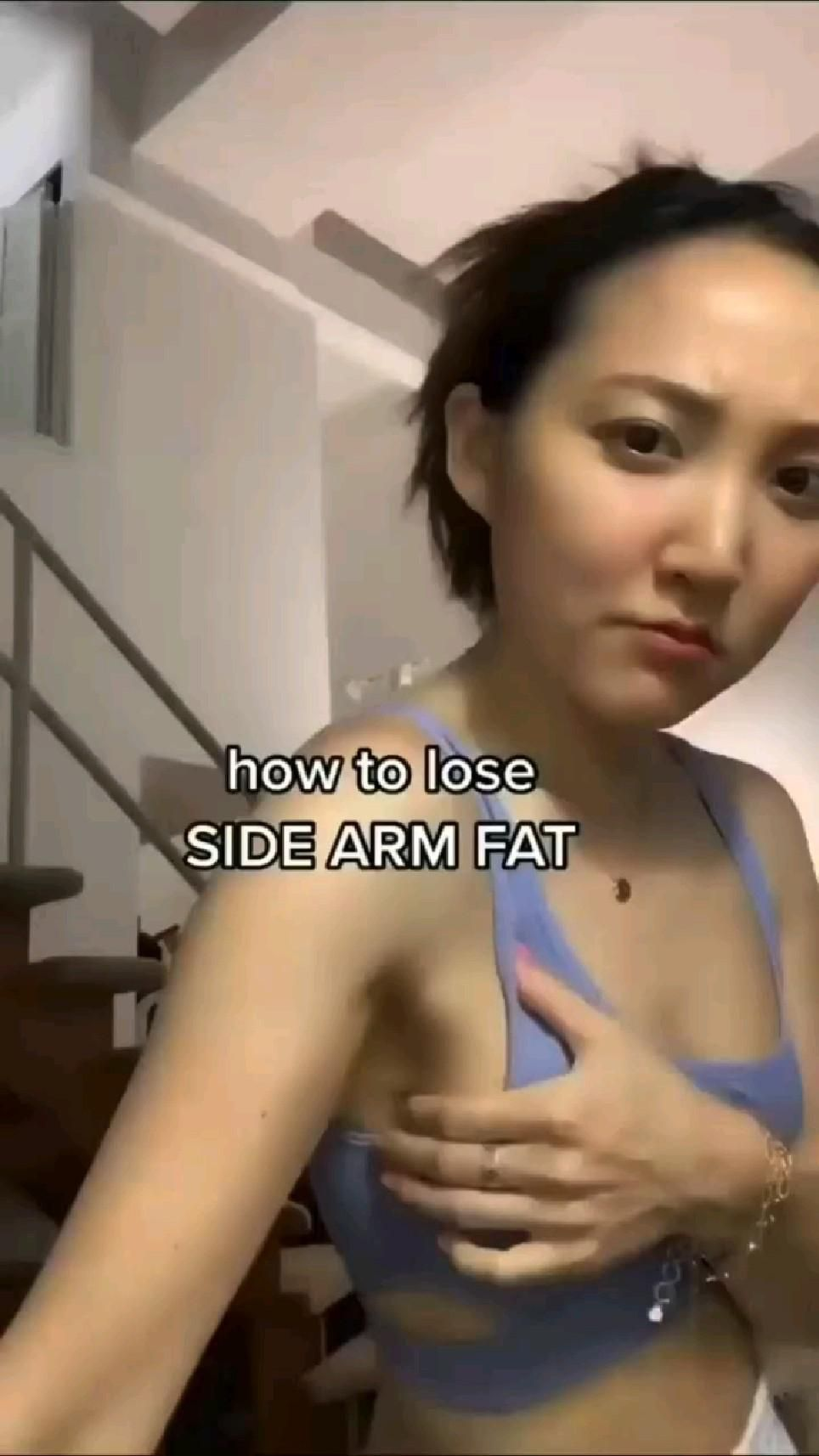 How to lose SIDE ARM FAT FOR WOMEN