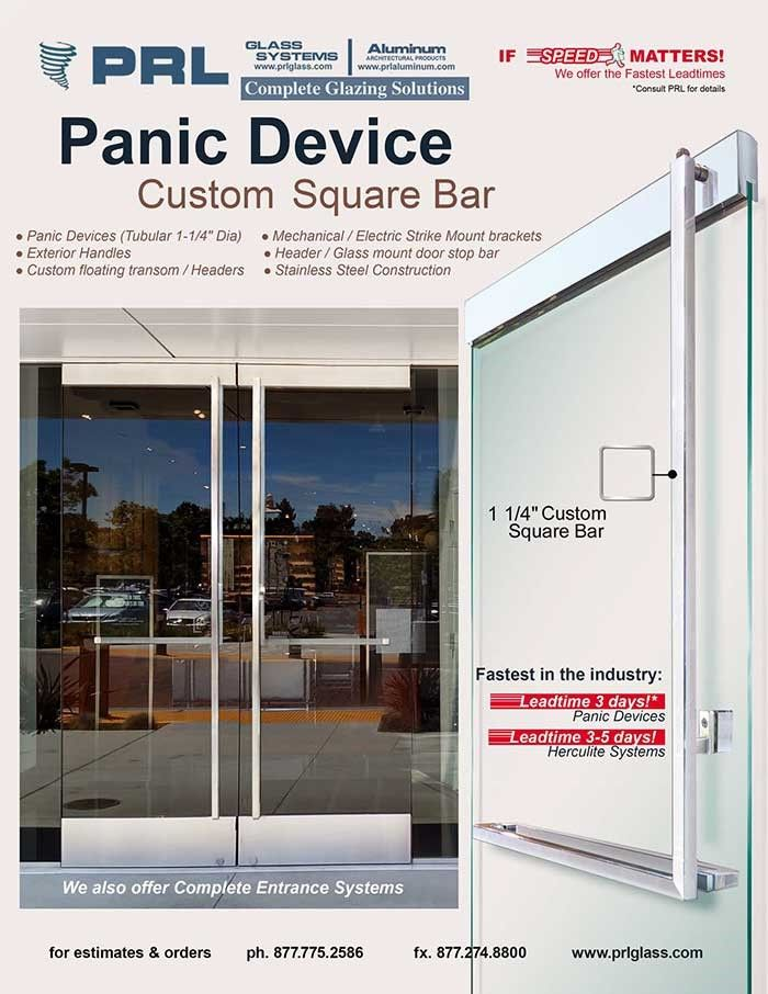 Among other features our square bar panic device accommodates to glass doors up to 10 feet tall and can be adapted to metal aluminum u0026 wood doors.  sc 1 st  Pinterest & Square Bar Panic Device PRL offers a one of a kind Panic Device with ...