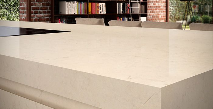 Dreamy Marfil 5220 Caesarstone Countertop For Napa