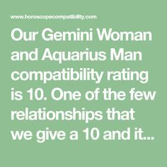 Aquarius dating gemini man