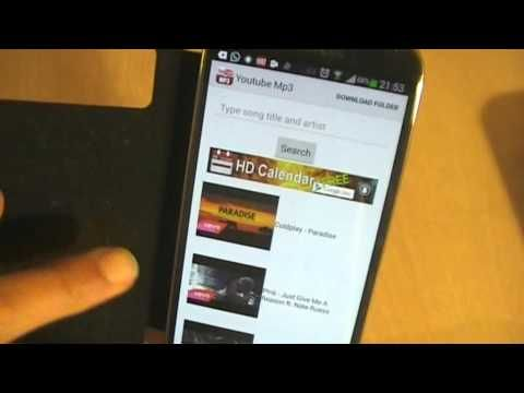 Android - How to get a Free Youtube to MP3 Converter