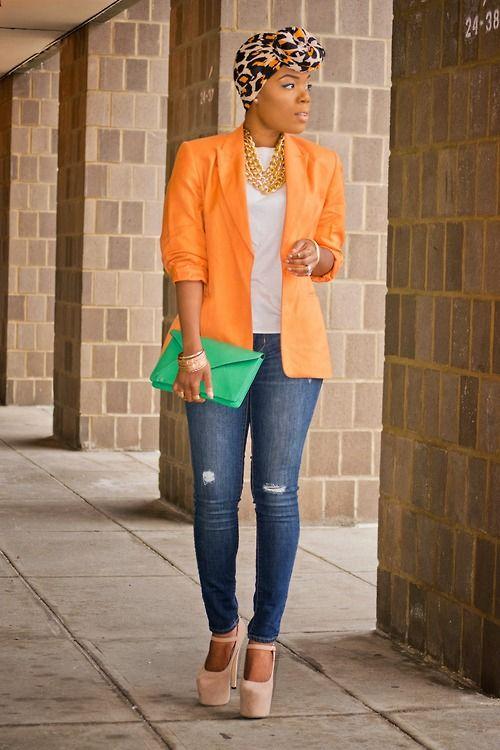 Photo of Classy colorblock