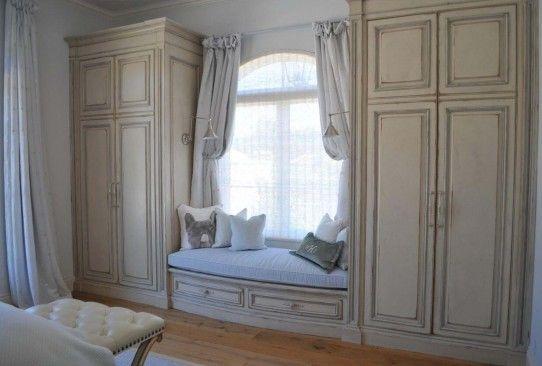 Habersham Custom Window Seat Cabinetry
