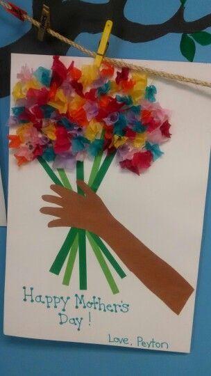 15 Diy Mothers Day Card Ideas For Children School Pinterest