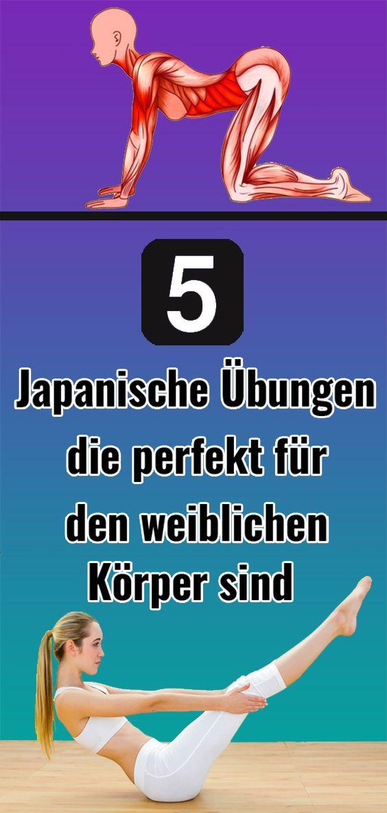 5 Japanische Übungen, die perfekt für den weiblichen Körper sind