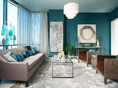 2017 Most Trendy Wohnzimmer Farben für Ihre Inspiration | Wohnzimmer ...