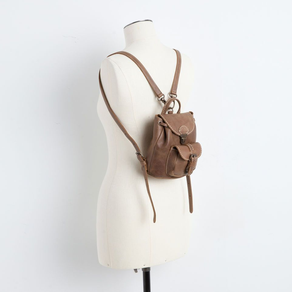 Todd Snyder + Lotuff Backpack In Chestnut (con imágenes