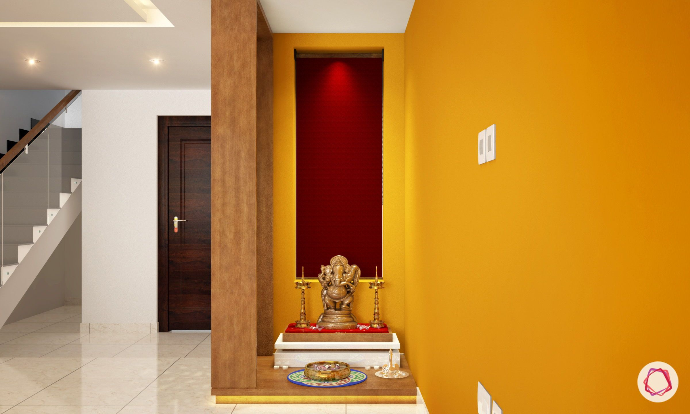 11 Small Pooja Room Designs With Dimensions For Your Home With
