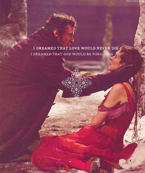 Valjean & Fantine...Anne Hathaway & Hugh Jackman Deserve