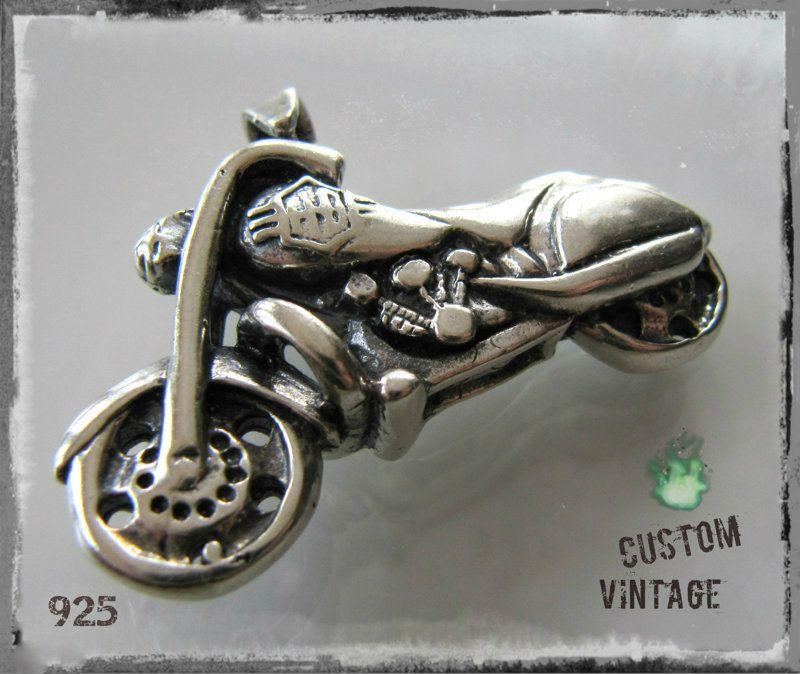 Vanha Hopeariipus Moottoripyörä | flearoom