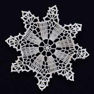 FREE PATTERN ~ Crochet Snowflake #10