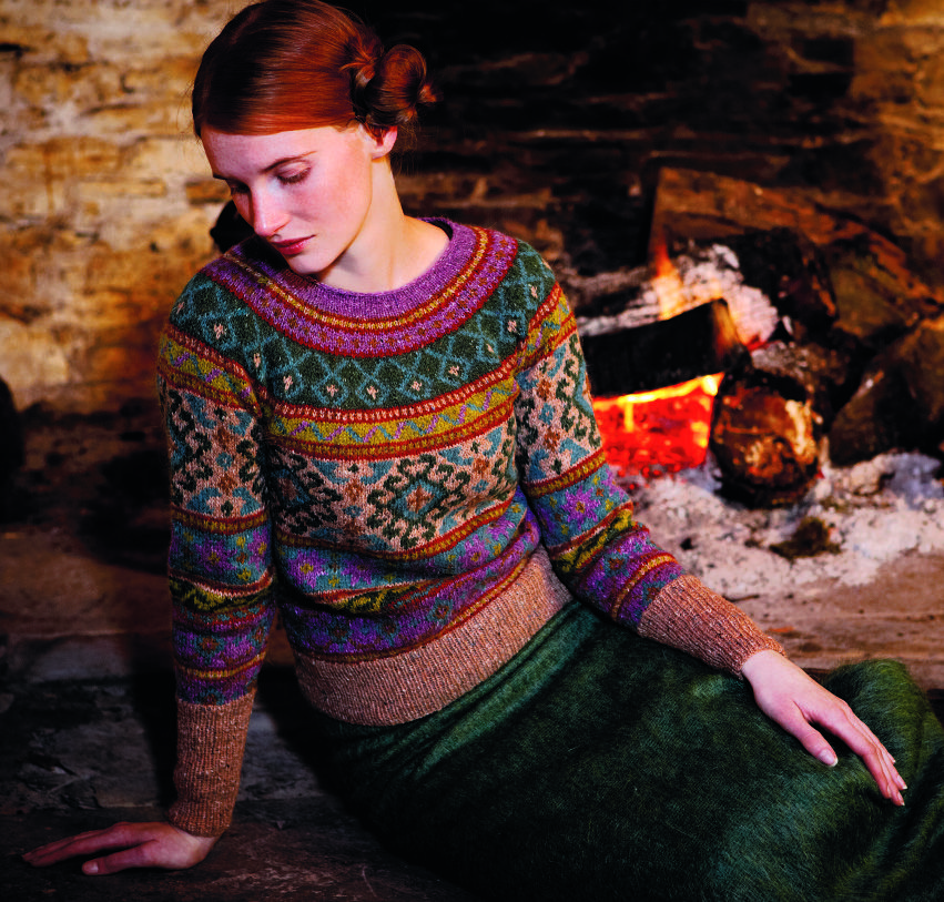 Rowan Felted Tweed Anatolia Sweater kit - Got Yarn! Got Kits! Get ...