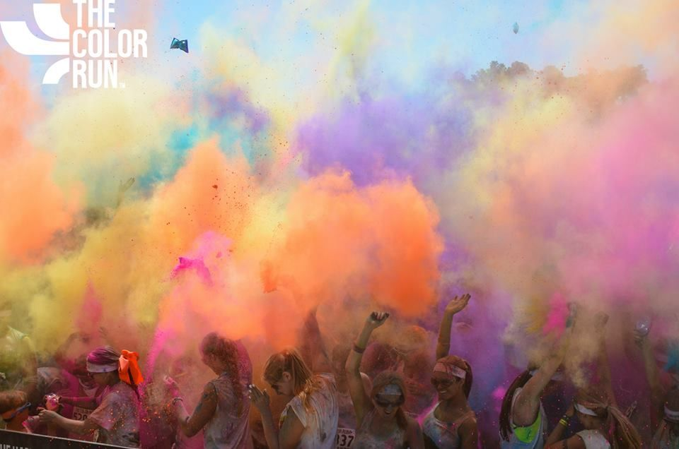 The Color Run <3 <3 <3 want to gooooo.