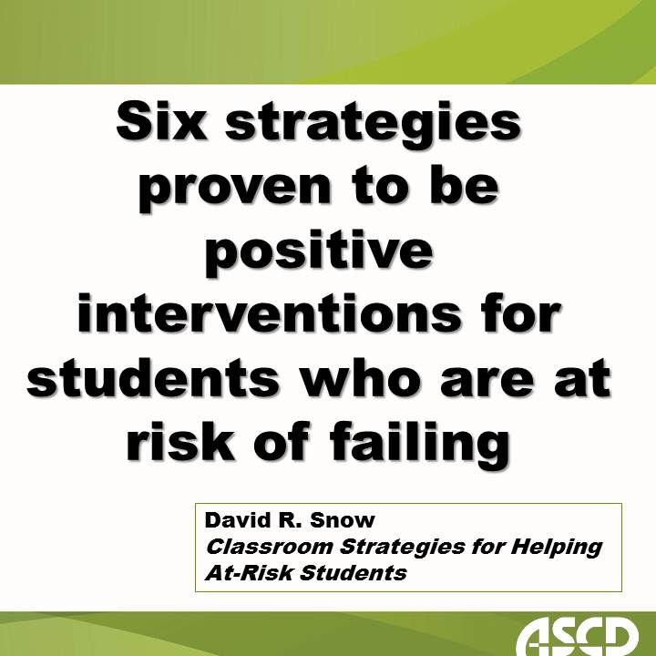 Helping At Risk Students Address >> Learn Classroom Strategies For Helping At Risk Students