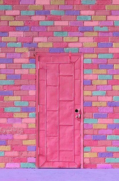 ゆめかわいい画像 カラフル 壁紙 壁紙 ピンク 可愛い壁紙