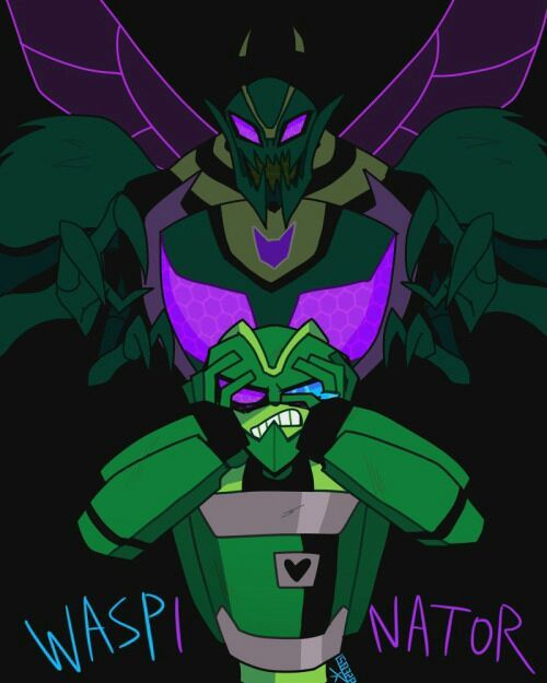 TF SAD ONE SHOTS - Waspinator VS Bumblebee | Transformers Animated