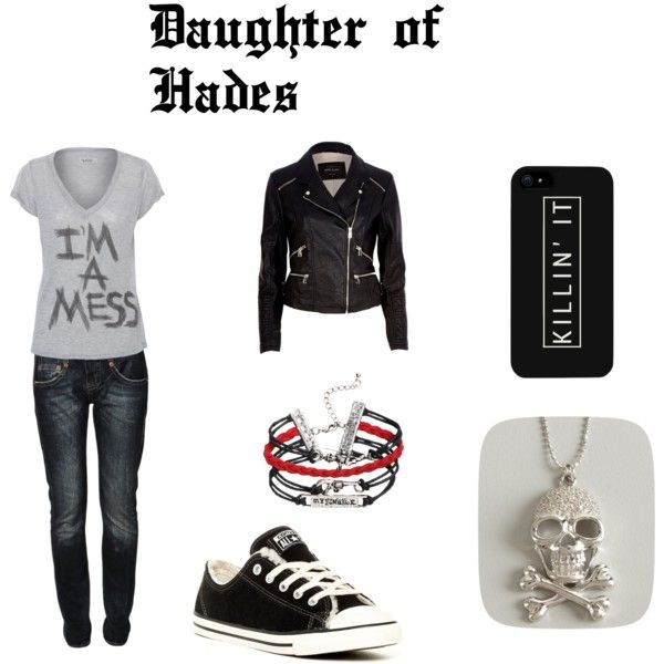 """""""Daughter of Hades"""" by amaelle99 on Polyvore. My first creation, what do you think?"""