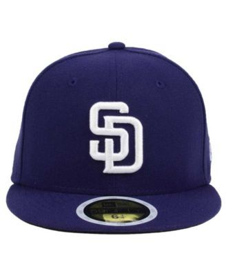 AUTHENTIC San Diego Padres New Era 59Fifty KIDS Cap