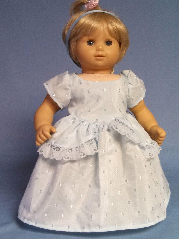 Cinderella Costume for Bitty Baby Doll by DollFashionsByLuanne on Etsy https://www.etsy.com/listing/250014287/cinderella-costume-for-bitty-baby-doll