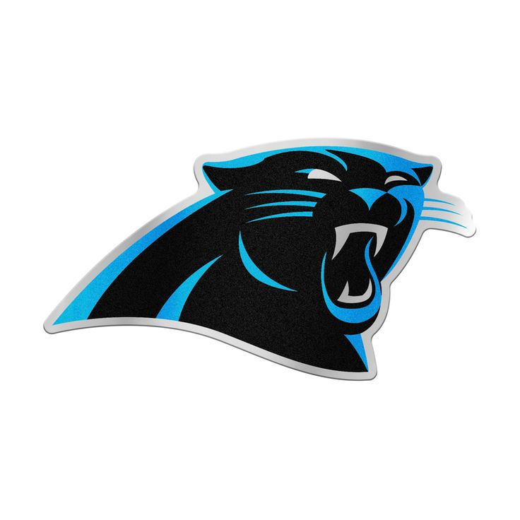 WinCraft Carolina Panthers Auto Emblem Decal - $4.99