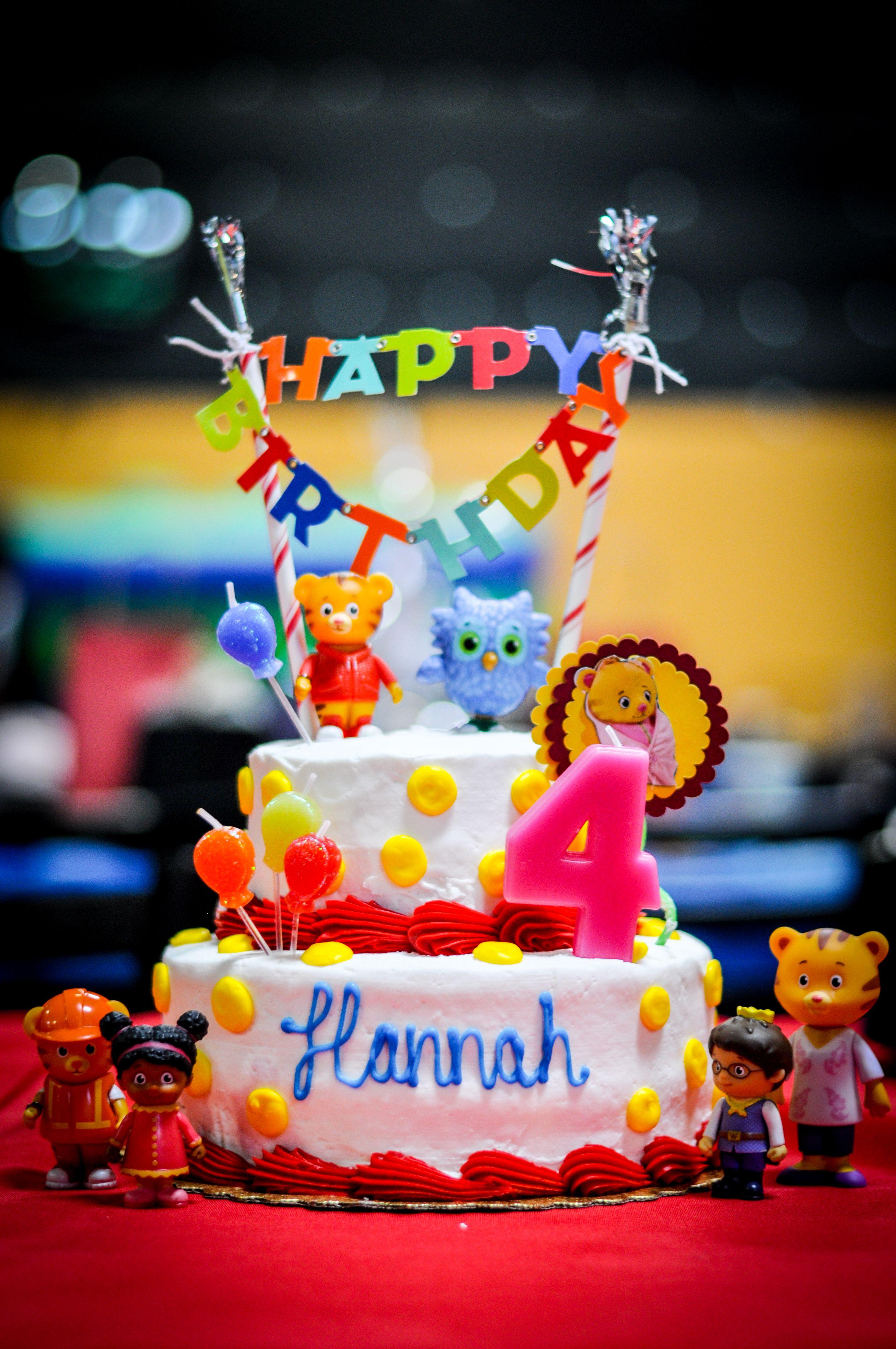 Hannah S Daniel Tiger Birthday Cake She Insisted On