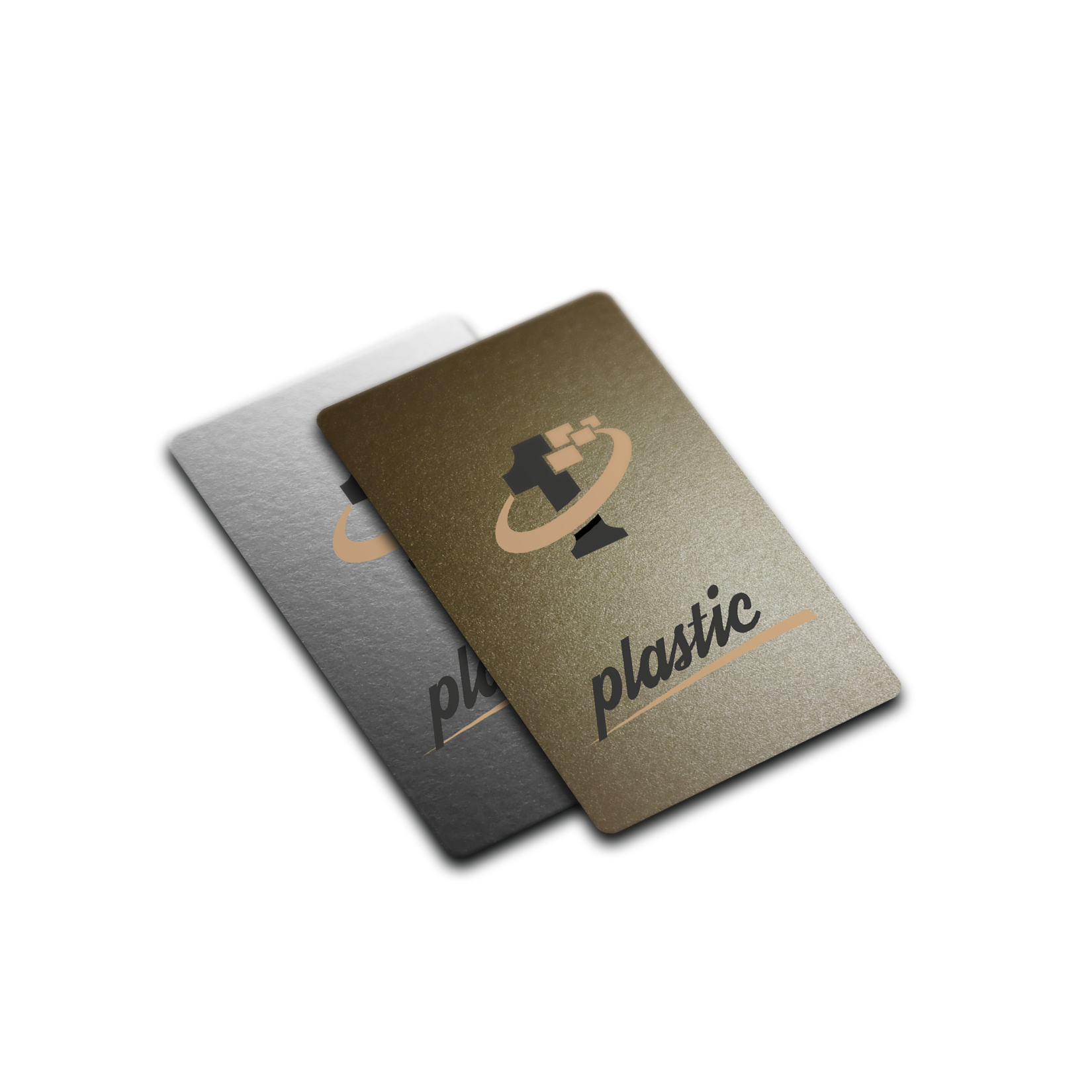 Plastic business card gold and custom thickness order high plastic business card gold and custom thickness order high quality plastic business card reheart Choice Image