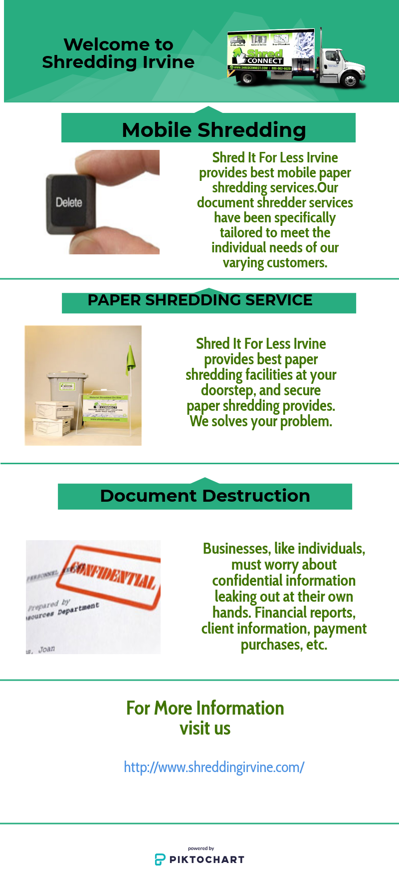 Are you looking for Mobile Shred Companies? Shred It For Less Irvine