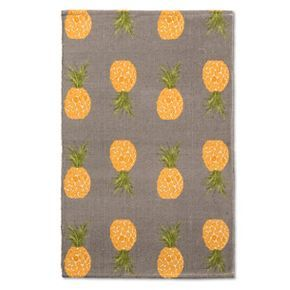 Accent Rug Reversible Laguna Pineapple Stripe 30 X48 Threshold Rugs Accent Rugs Colorful Rugs
