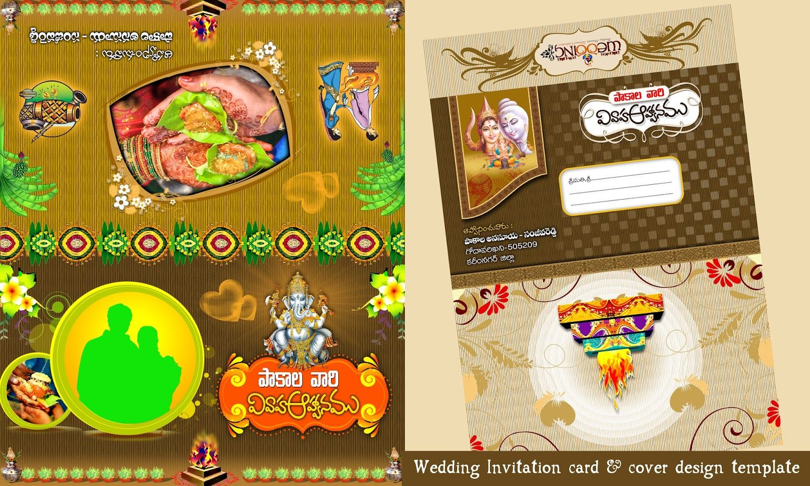 Indian Wedding Invitation Cards Designs Free