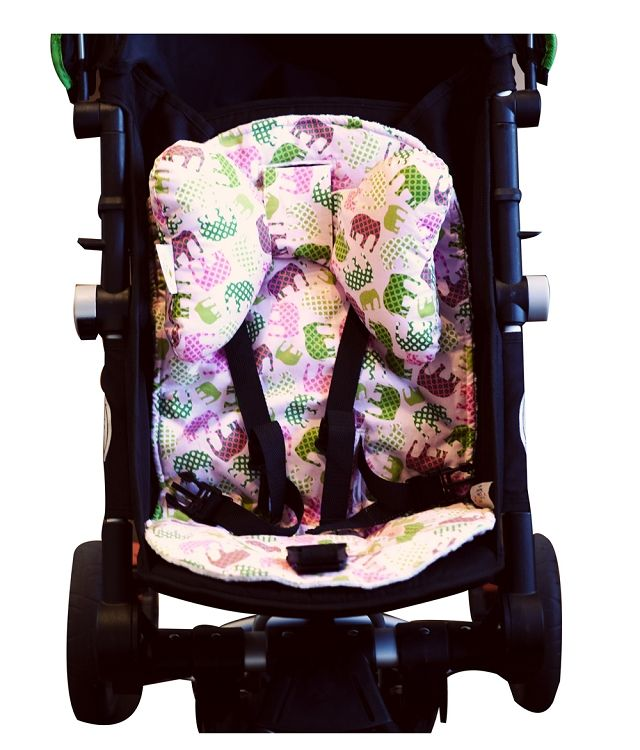 Pink Elephant Stroller Liner Ear Ears Are So Cute A Great Product To Support Your Babys Head During Travel In Their Car Seat Or