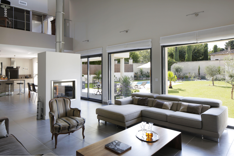 Réalisations ligne contemporaine - esprit fenêtre | Amenagement maison, Constructeur maison ...