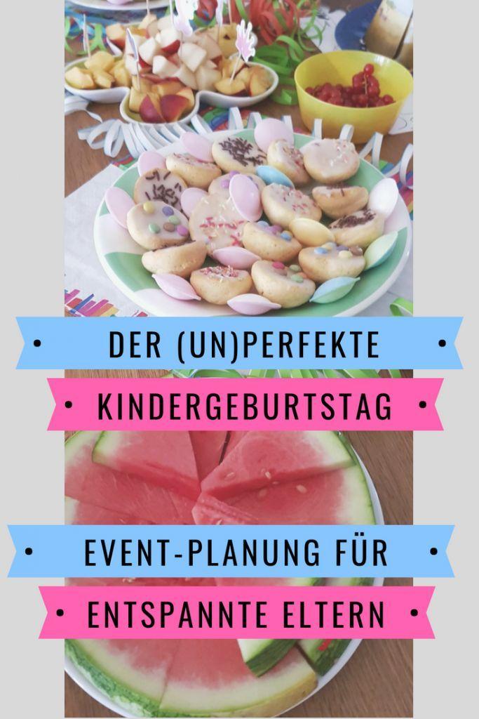 Event-Planung für entspannte Eltern: in 5 Schritten zum (un)perfekten Kindergeburtstag | Kerstin und das Chaos #childrenpartyfoods