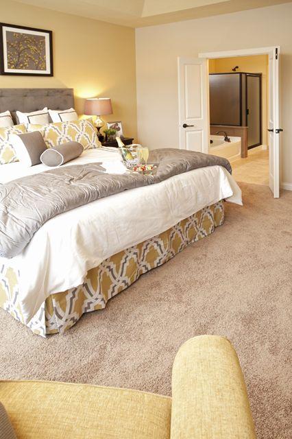 Pulte Homes, Hidden Bluffs in West Bloomington. Rambler. Westbrook Floor Plan. Master Bedroom. Starts at $370,990.