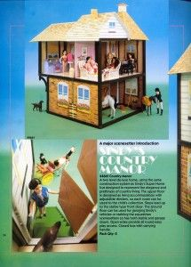 Sindy's Country Mansion 1985.
