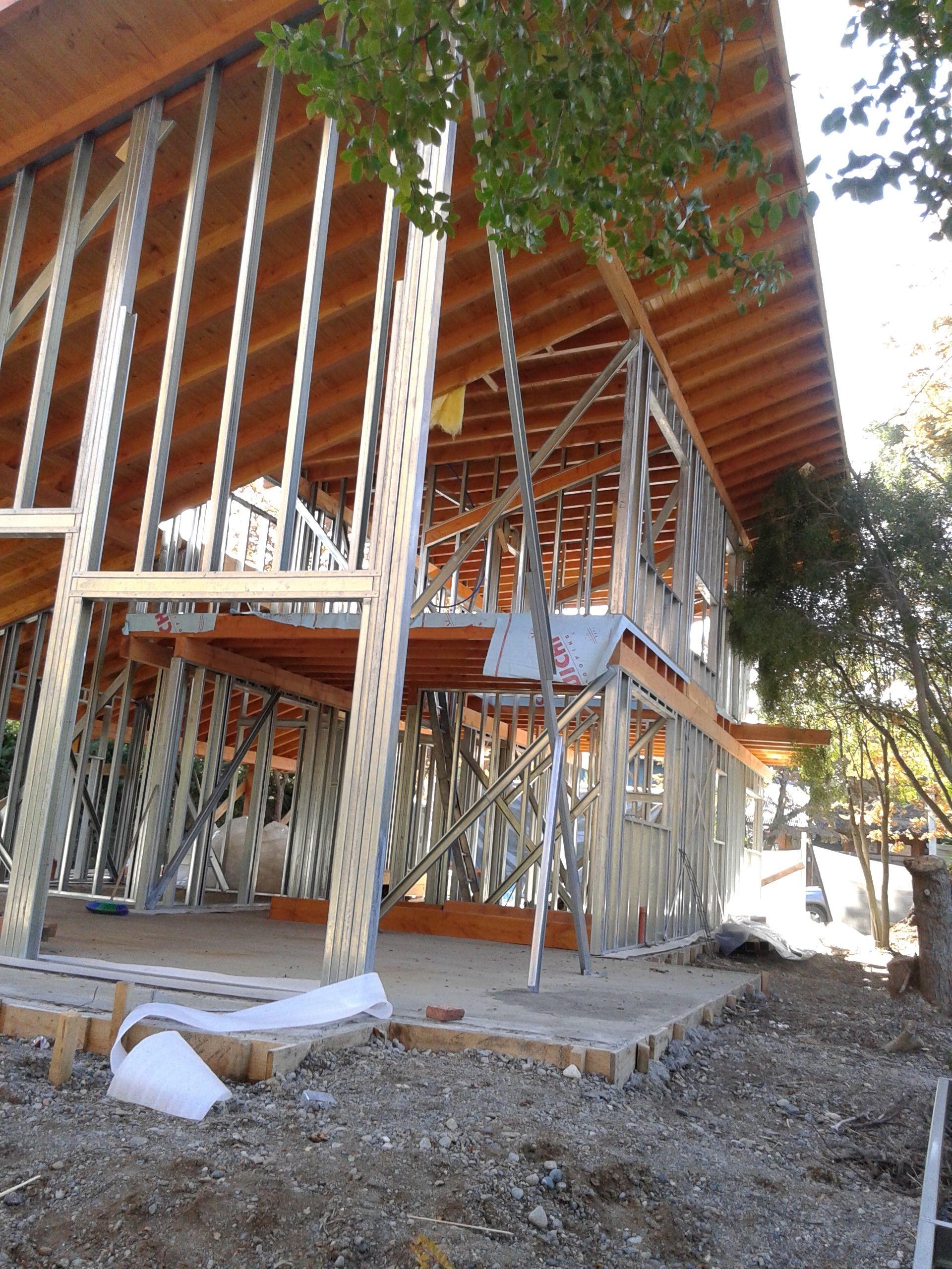 Pin De Javier Mora En Arquitectura Meier Lanz Sistemas Constructivos Casas Con Estructura De Acero Casas De Madera Construccion En Seco