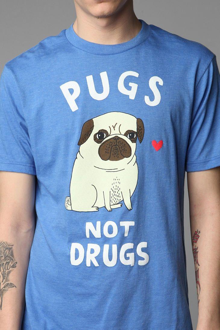 chien t shirt I love pugs