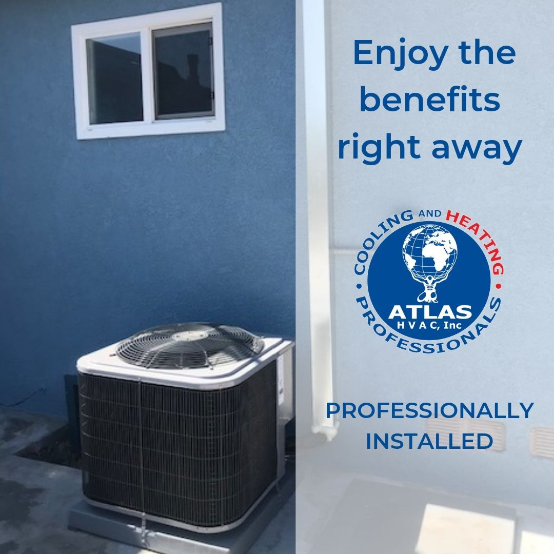 Hvac Systems That Are Professionally Installed By Atlas Hvac Inc