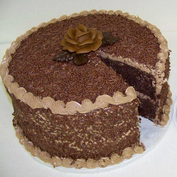 Decadent Chocolate Fantasy Cake