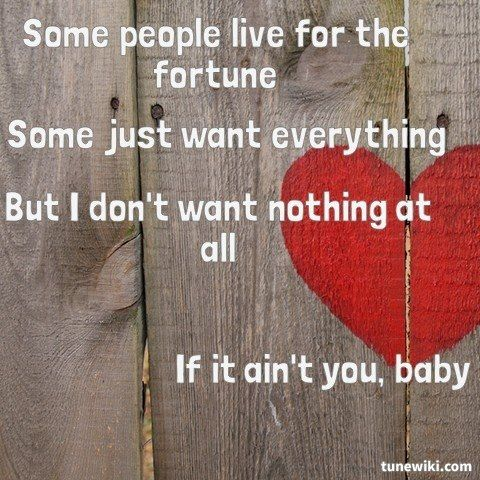 Lyricart For If I Ain T Got You By Alicia Keys Learning To