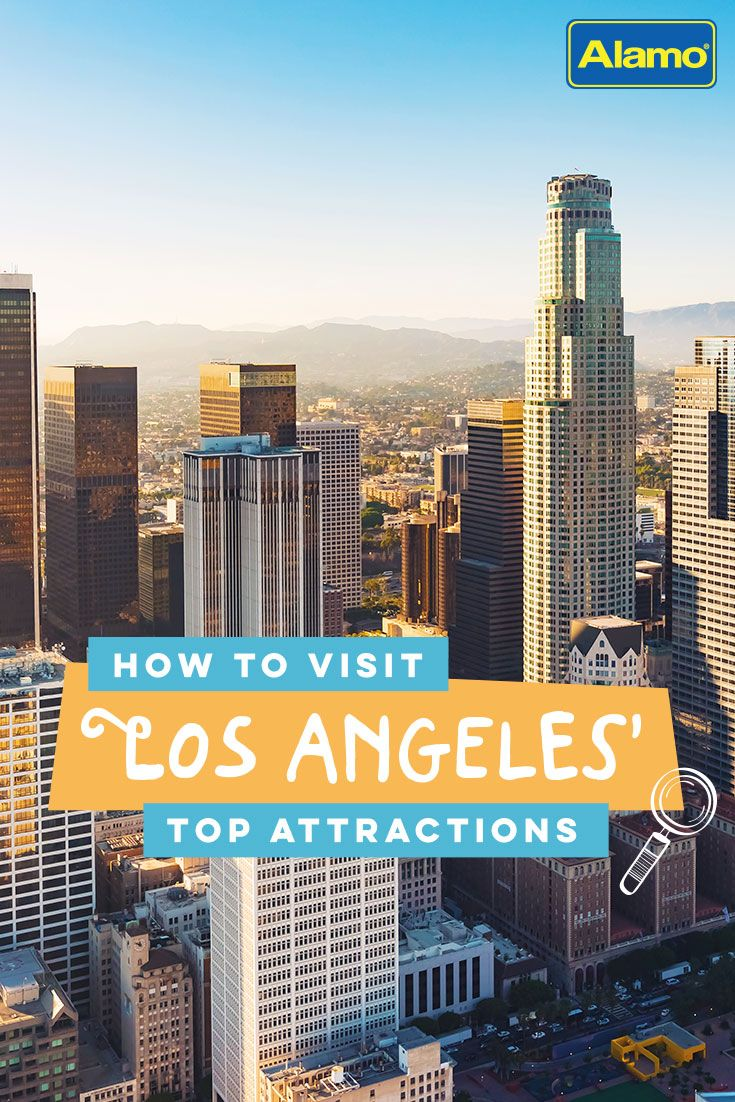 Visit La Top Attractions In Los Angeles California Travel Vacation Trips Southern California Getaways
