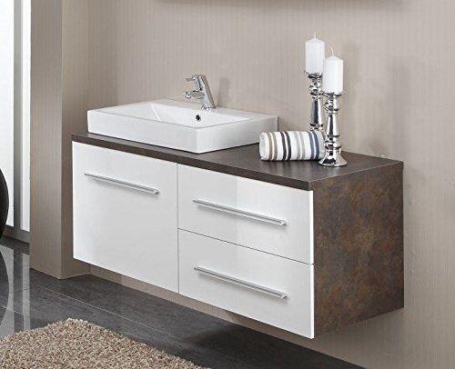Dreams4Home Waschplatz \u0027Siri XII\u0027 Badschrank, Wandschrank - badezimmer waschbecken mit unterschrank