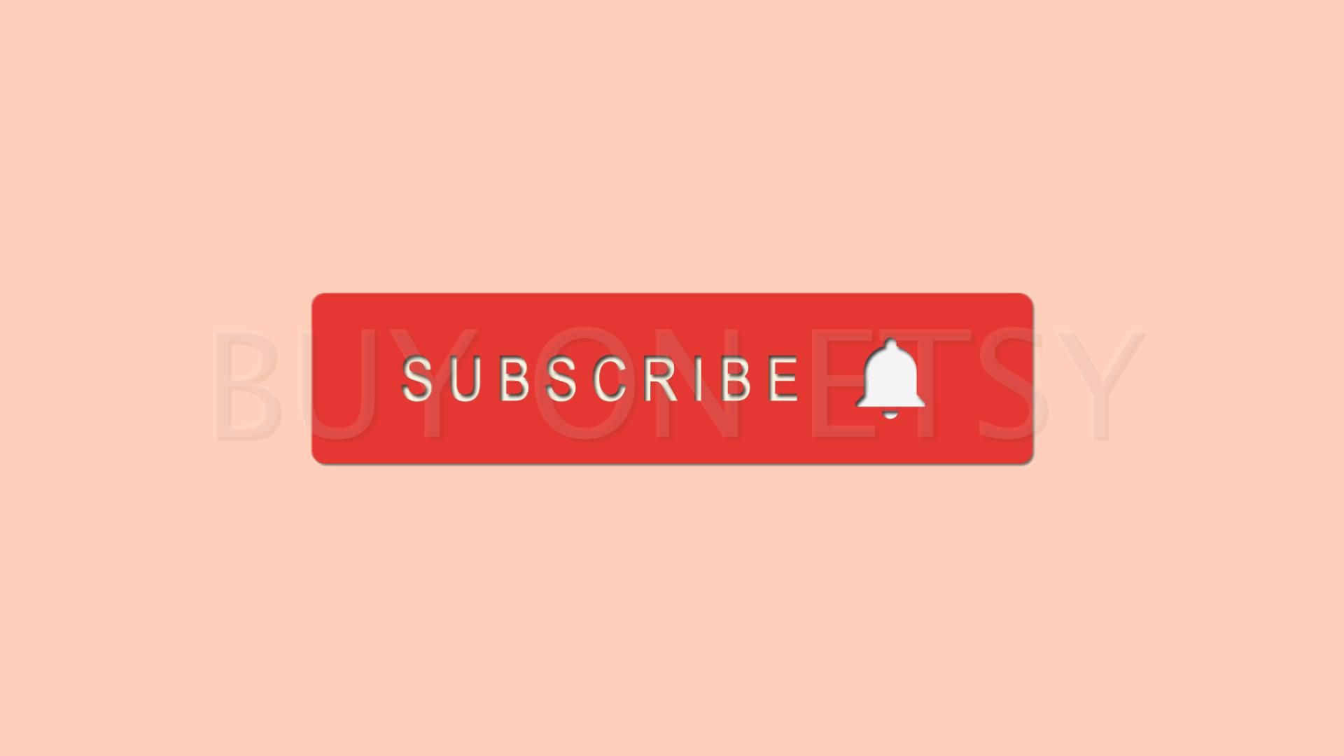 Animate Subscribe and Bell Button Youtube Art Gif