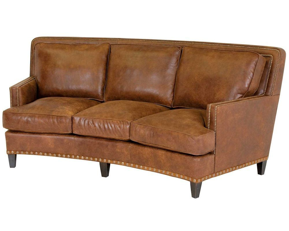 Best Classic Leather Palermo Curved Sofa 8553 Curved Sofa 400 x 300