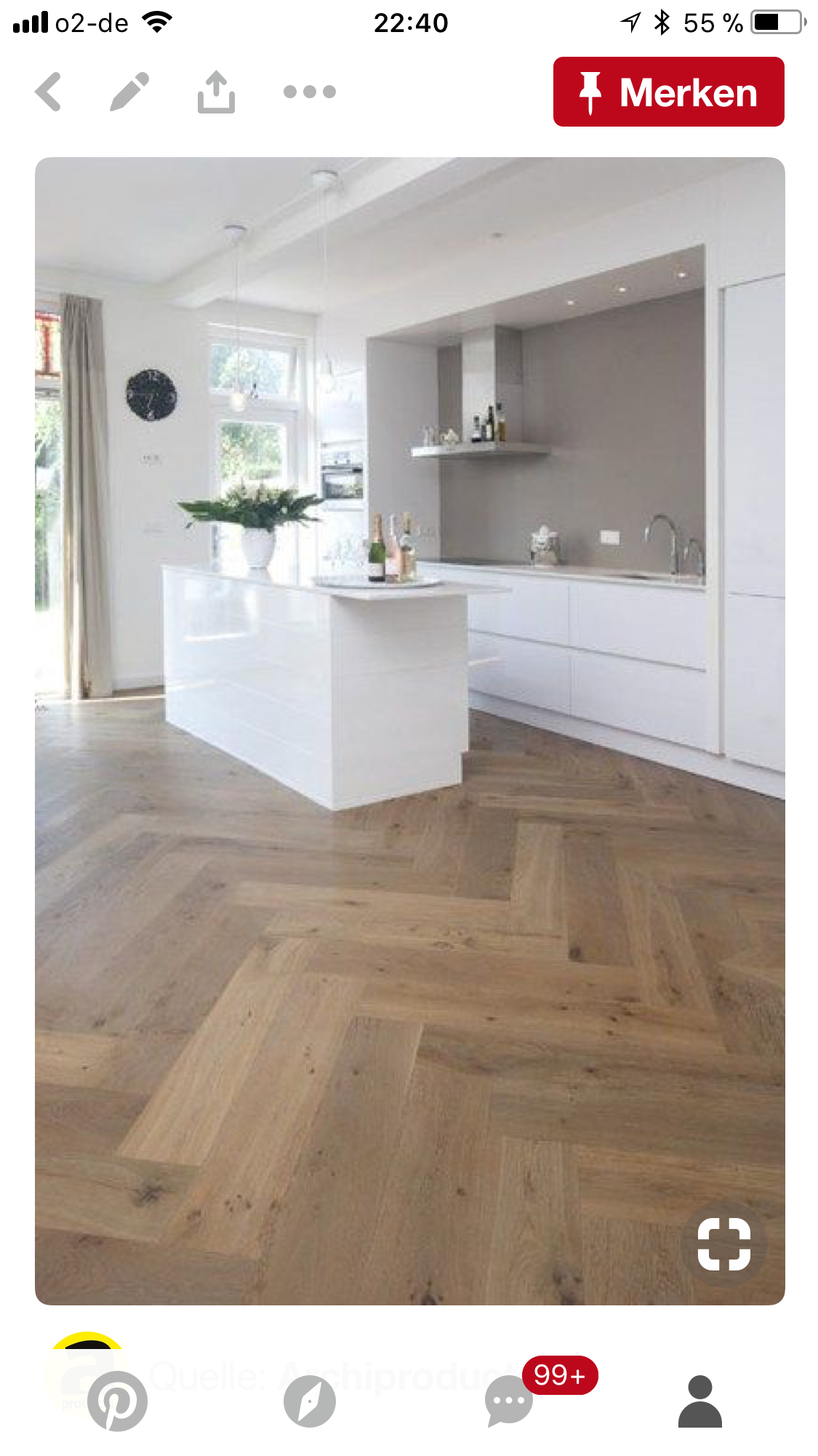 Pin By Agnes Sukau On Boden Interior Design Kitchen Small Flooring Home