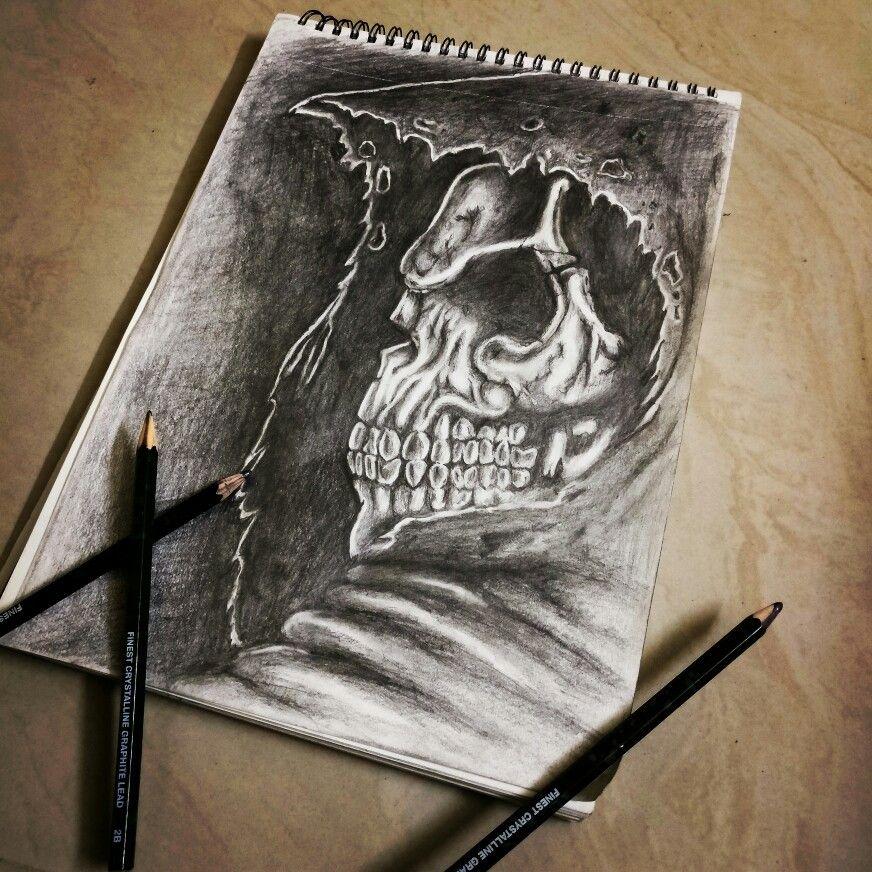 Grim Reaper Pencil Sketch Art Sketches Drawings Y Painting