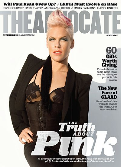 The Truth About Pink. Great article. Love her music and her out thereness.